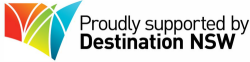 Proudly Supported by Destination NSW